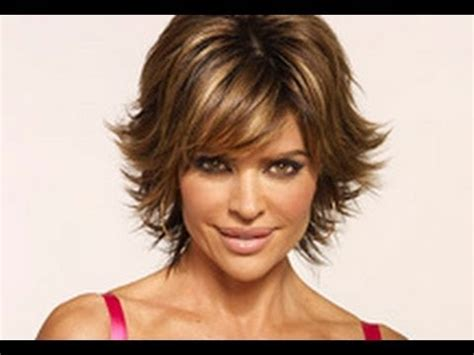 lisa rinna tutorial for her hair part 1 of 2 how to cut and style your hair like lisa