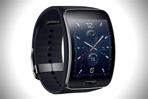 Samsung Gear S Smartwatch Stylish samsung curved gear s smartwatch hiconsumption
