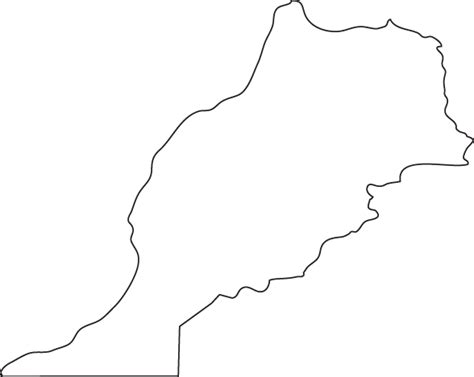 morocco map coloring page morocco outline map