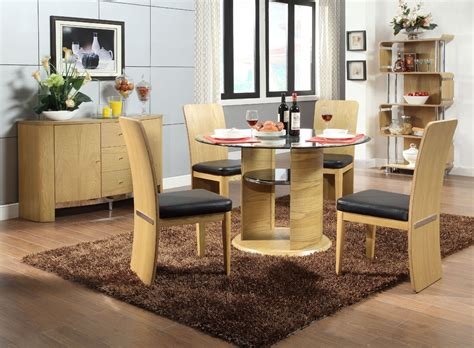 Jual Dinner Set by Glass Dining Table