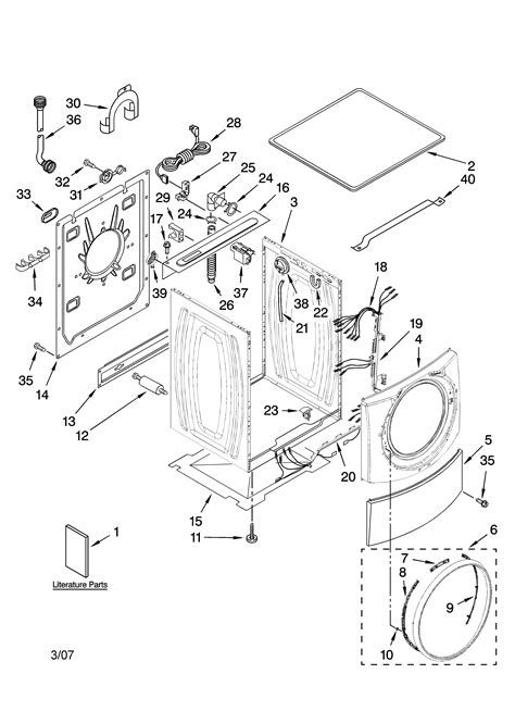 kenmore elite parts diagram parts diagram for kenmore washer inspirational diagram