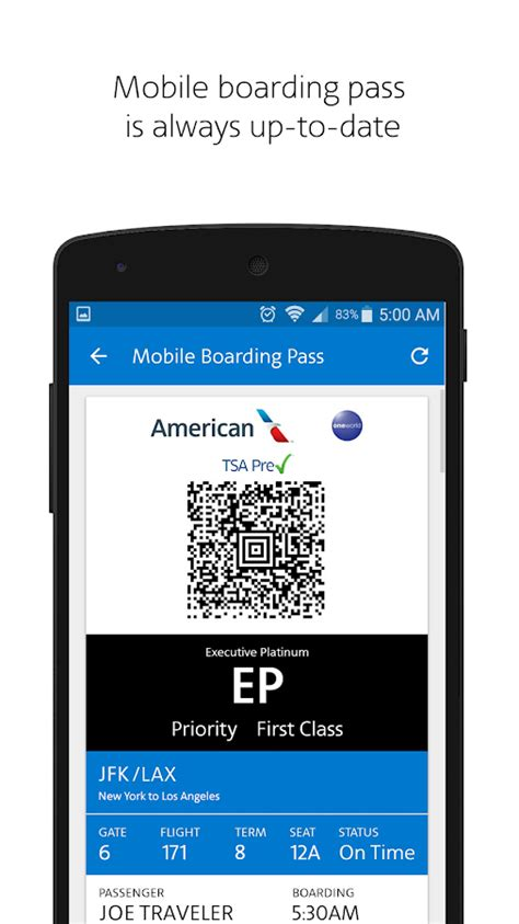 american airlines mobile american airlines 5 2 apk android travel