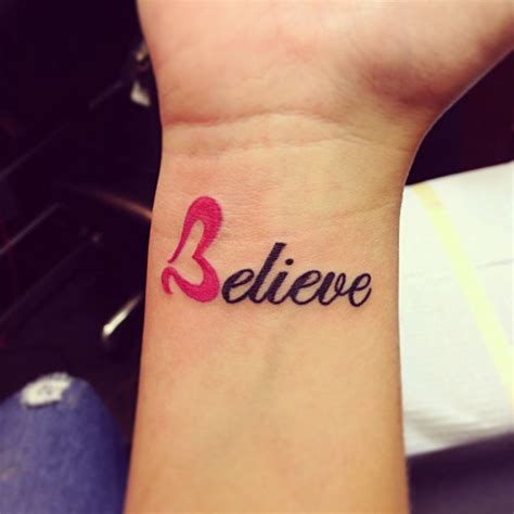 believe tattoos on wrist believe tattoos