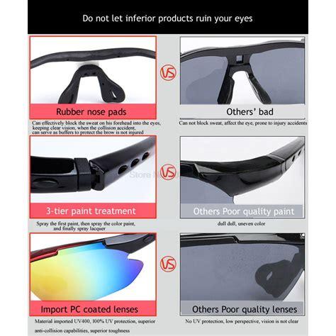 Kacamata Sepeda Dengan 5 Lensa Myopia Obaolay Kacamata Sepeda Dengan 5 Lensa Myopia Black
