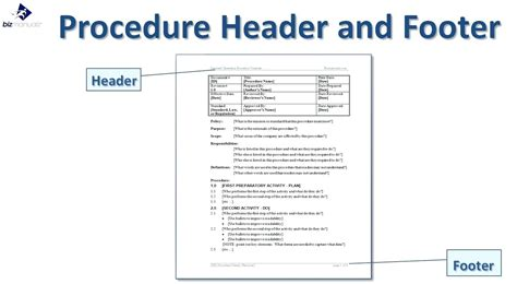 process document template process documentation template