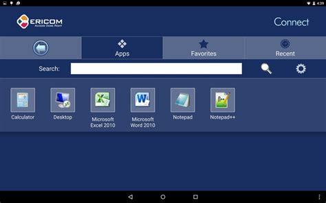 connect mobile ericom connect mobile client apk free business