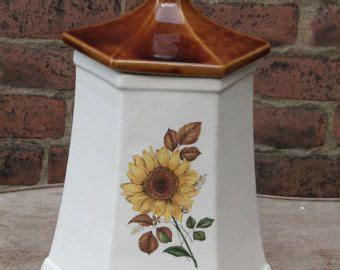 country sunflower kitchen decor sunflower kitchen decor sunflower pagoda canister
