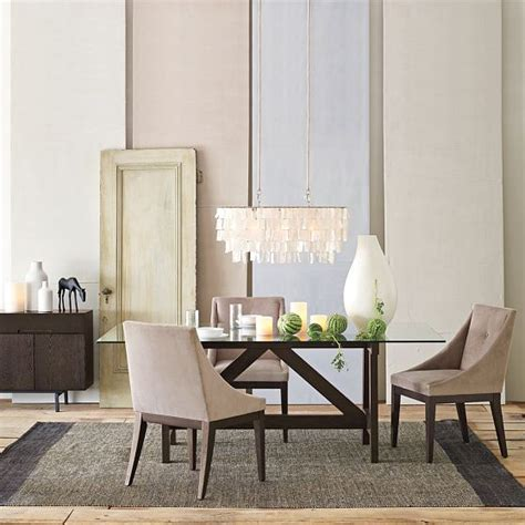 rectangular dining room chandelier the rectangle chandelier from west elm home decor i rectangular chandelier
