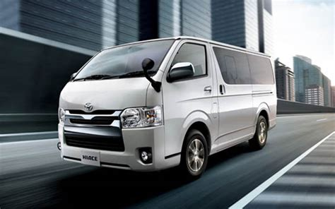 Toyota Hi Ace Toyota Hiace 2015 New Style With Safety Specification