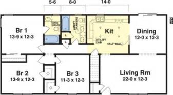 Wardcraft Homes Floor Plans Simple Ranch House Plans 3 Bedroom Arts
