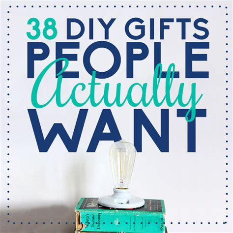 Useful Handmade Gifts - 38 diy gifts actually want