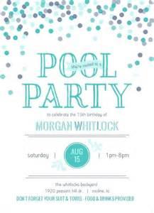pool invitation teenbirthdayideas teenbirthdayinvitations birthday