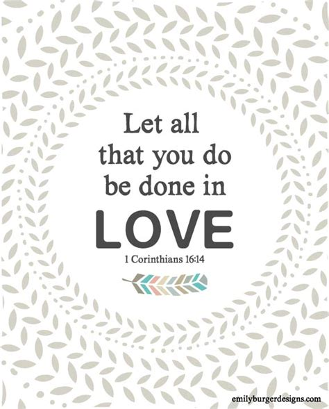 let all that you do be done in love tattoo let all that you do be done in 8 by 10 print