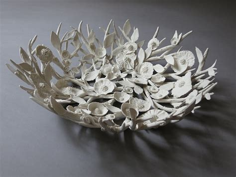 How To Make Glaze Paper Flowers - 1000 images about clay sculptures on pinch