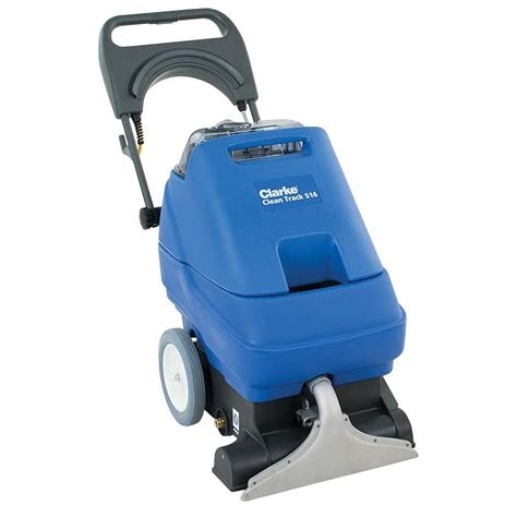 rug scrubber clarke clean track s16 commercial self contained upright carpet cleaner 56382723 the home depot