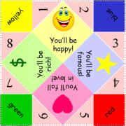 What To Write Inside A Paper Fortune Teller Paper Fortune Tellers To Print Fortune Origami Teller At
