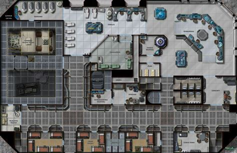 Restaurant Floor Plan Generator by Maybe Your Space Station Requires A Map Distant Outposts
