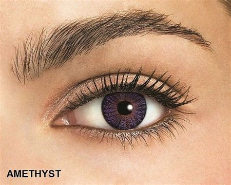 amethyst eye color freshlook colorblends amethyst colored contacts