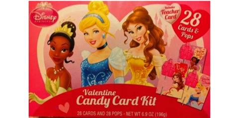 Buy Disney Gift Card Online - disney princess valentine candy card kit 28 cards pops includes teacher card buy