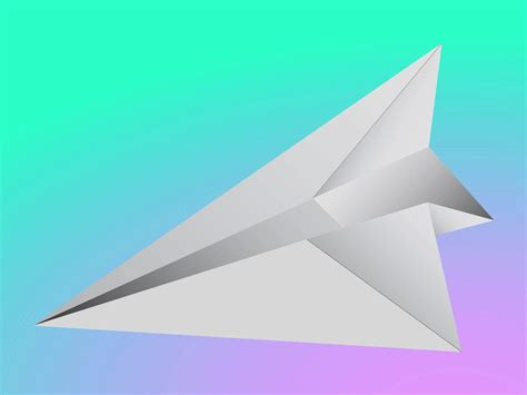 Aeroplane With Paper - paper plane vector