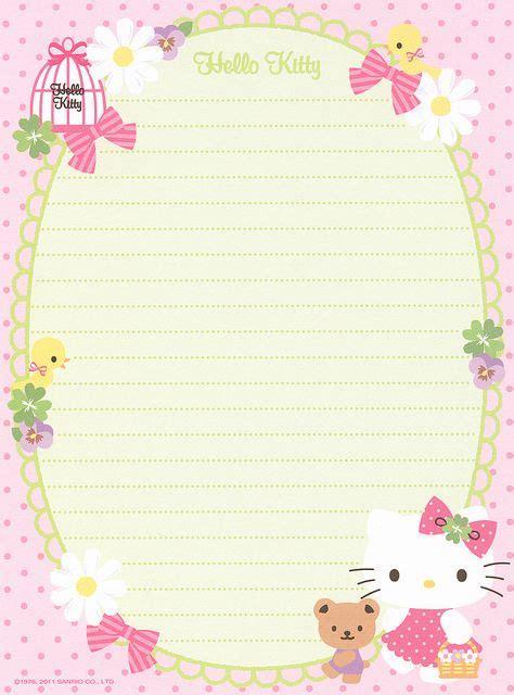 hello kitty note 5 wallpaper 171 best cutie memopad images on pinterest kawaii