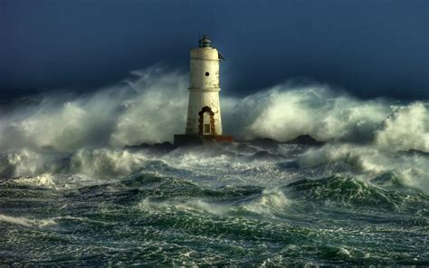 lighthouse storm wallpapers high resolution outdoors