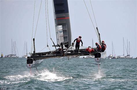 boat to america from uk sir ben ainslie is master of bermudan waves as britain s