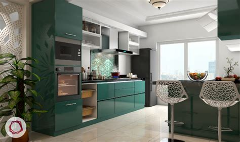 Small Kitchen With Island Design by 5 Factors That Determine Modular Kitchen Price
