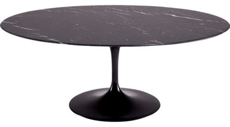 black marble oval dining table 78 quot oval blommis marble top dining table black