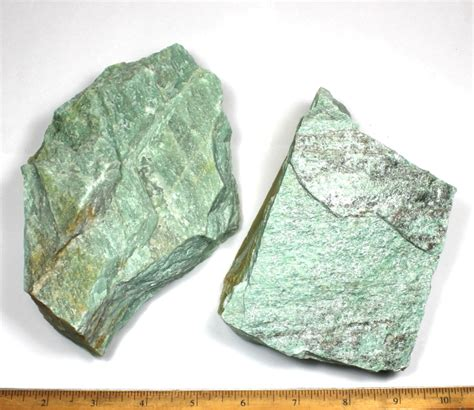 Green Quartzite lapidary rock for cutting decorative and
