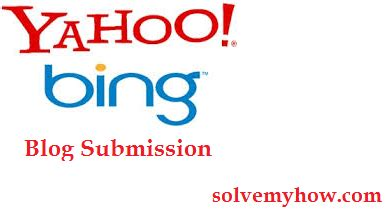 How To Not Let Search Me On How To Submit To And Yahoo Solve My How