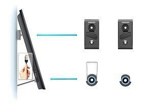 amazoncom samsung wmn mini wall mount home audio