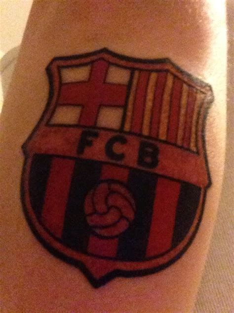 tattoo parlour barcelona fc barcelona tattoo by mrandersiversen on deviantart