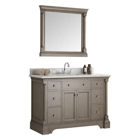 silver bathroom vanity fresca kingston 48 quot antique silver traditional bathroom
