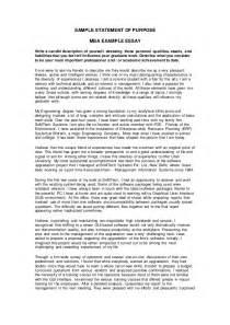 Statement Of Purpose Sle Essays by Sop Sle