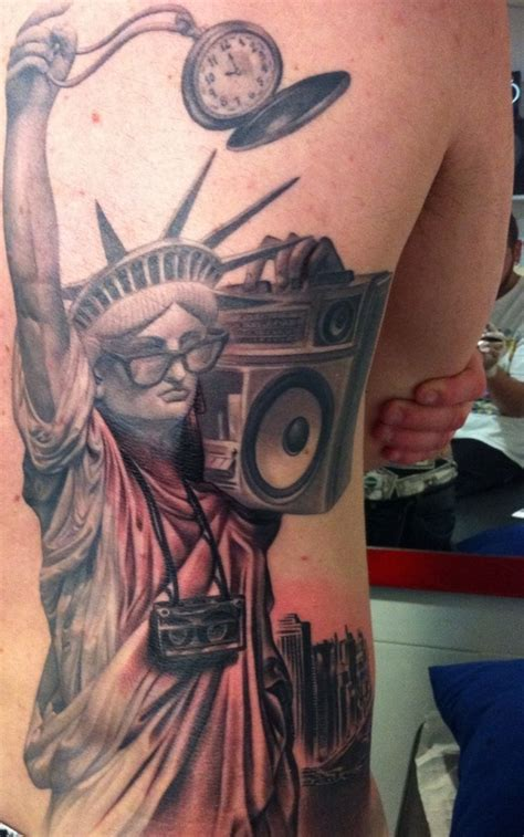new school tattoo nyc 30 ultimate statue of liberty tattoos ideas