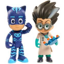 disney jr pj masks duet figures catboy romeo owlette luna gekko night ninja ebay