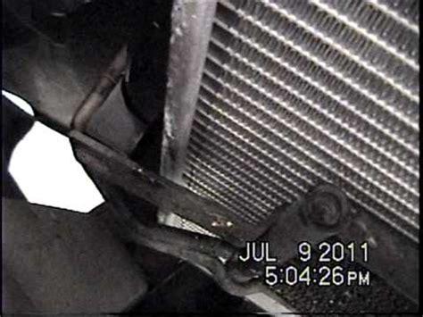 how to drain gas 2000 2002 dodge ram van 2500 dodge ram radiator removal youtube