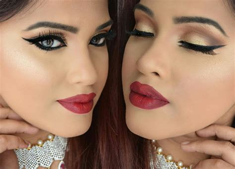 new year makeup look bengali new year makeup look পহ ল ব শ খ র স জ grwm