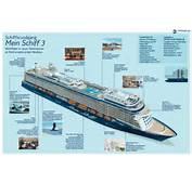 Mein Schiff 3 Deckplan &amp Querschnitt