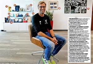 klopp bring the noise books inside jurgen klopp s office psychology books and heavy