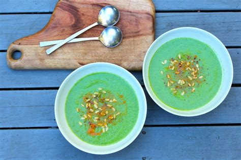 Detox With Green Vegetables by Green Veggie Detox Soup Health Forever