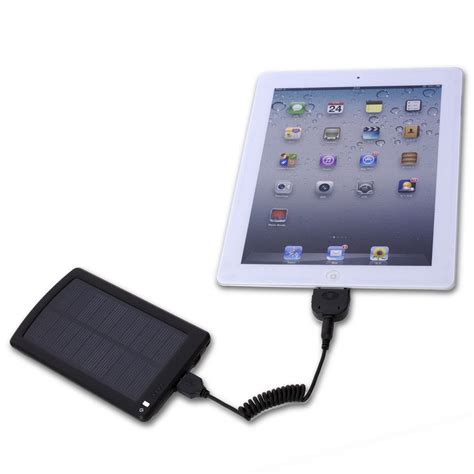 android phone charger opteka 4000mah solar power battery mobile iphone ipod android phone charger ebay