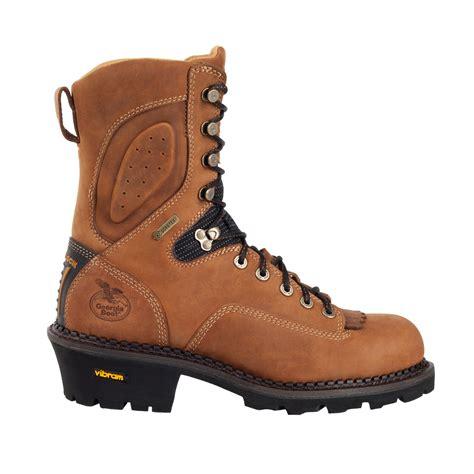 georgia comfort core logger boots georgia gore tex 174 waterproof comp toe comfort core logger