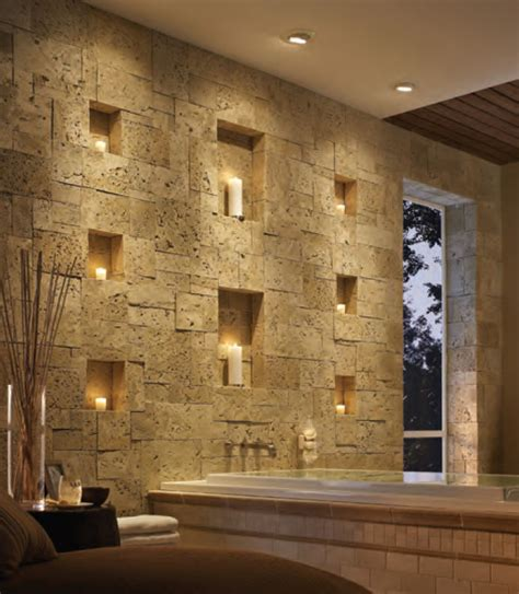 stone bathroom designs interior designs interior stone veneer natural brown
