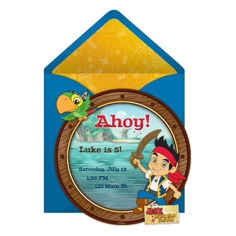 printable birthday invitations jake and the neverland pirates jake and the neverland pirates birthday invitations