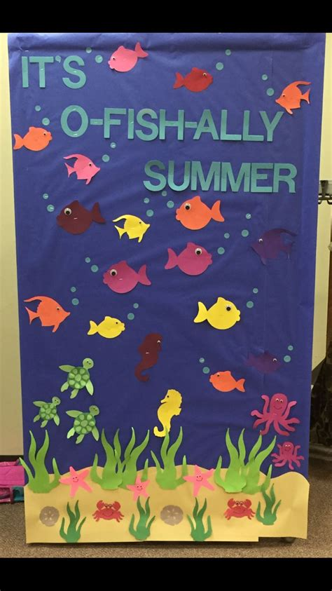 8 Best Summer For Your by 25 Best Summer Bulletin Boards Ideas On