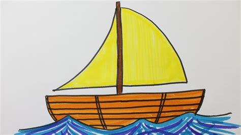 dessin facile bateau - Dessin Bateau Simple