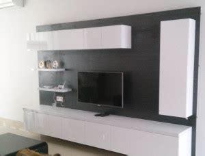 dekorasi rumah  backdrop tv kitchen set bsd