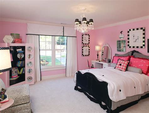 great decoration pink bedroom